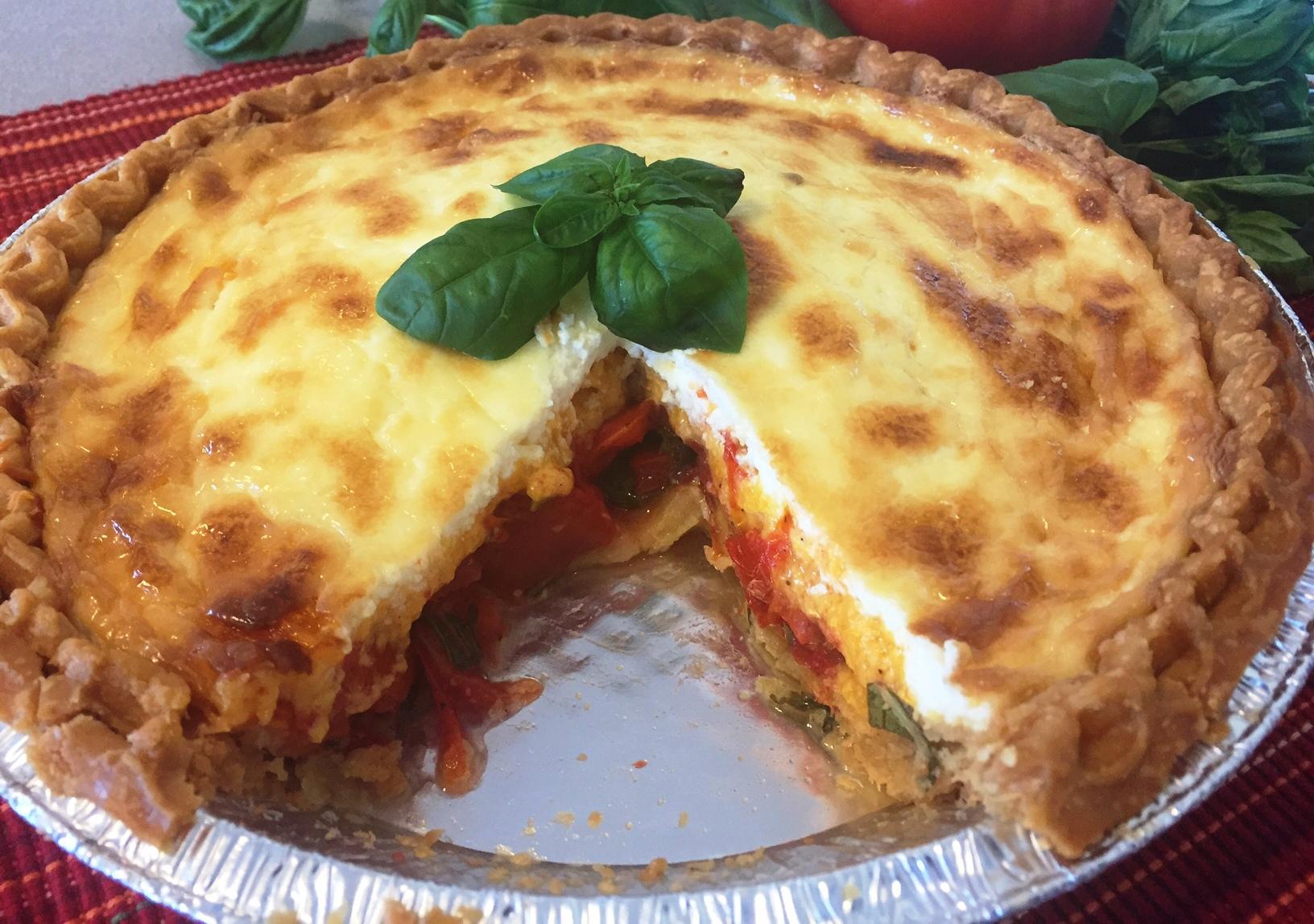Mississippi Tomato Pie