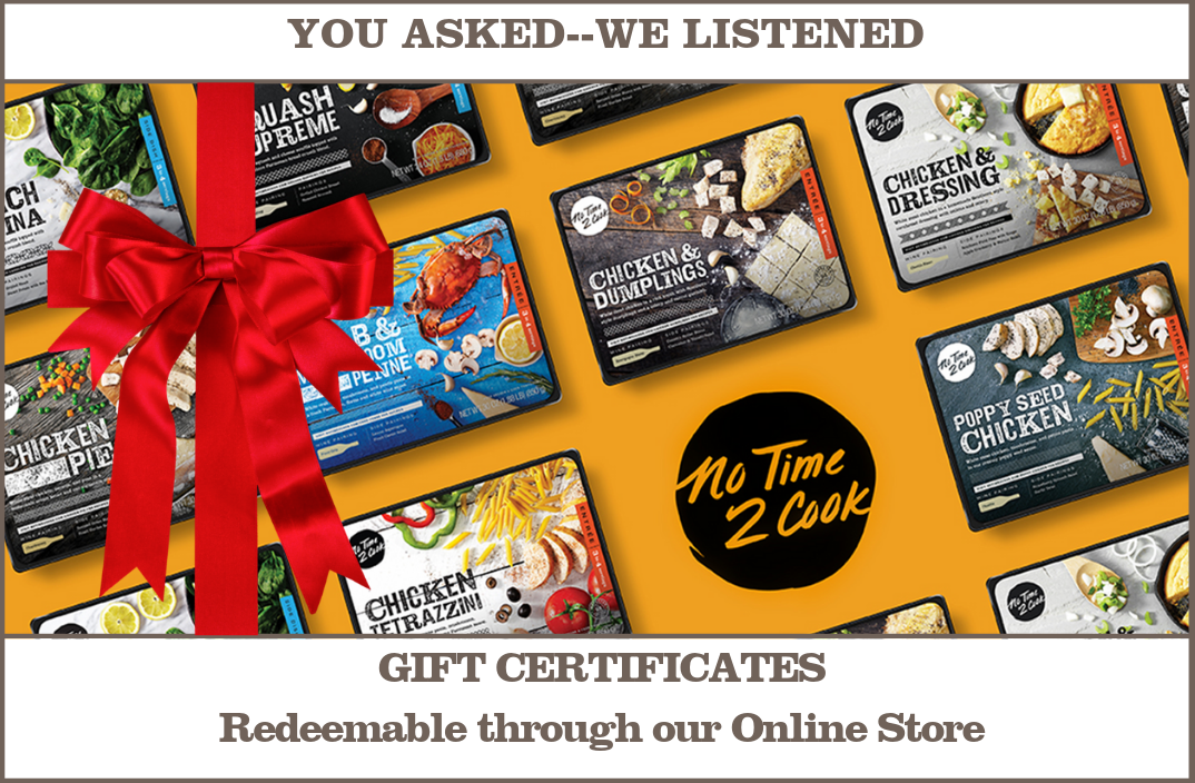Gift Certificate with products