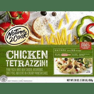 Serve Parmesan Vinaigrette Salad with our Chicken Tetrazzini